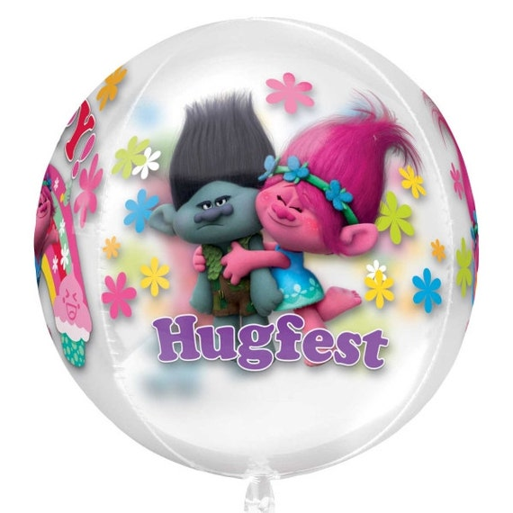 Trolls Balloon Table Decor