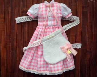 Dress Set for Blythe, Azone Pureneemo S/M Body