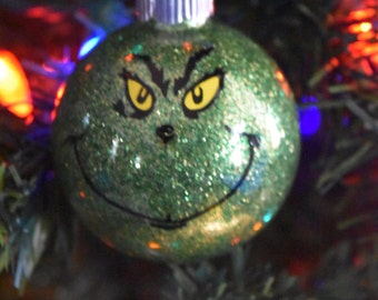The Grinch Christmas Tree Ornament Dr. Seuss