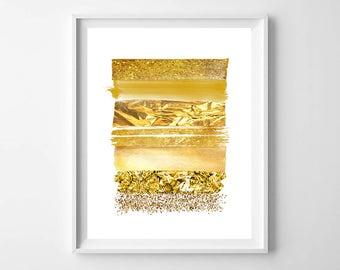 Gold stripe Wall Art,Gold stripes print,Gold Digital Art,Gold Decor Print,Line Art Wall,Minimalist Wall Art,Modern decor print,rhinestones