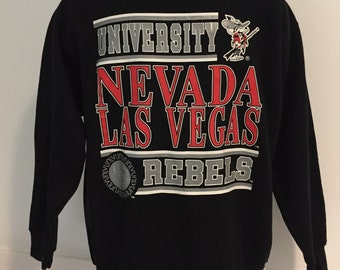 Vintage University of Nevada Las Vegas Rebels Sweatshirt XL