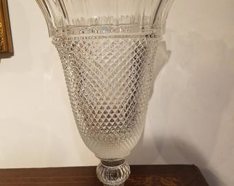 Shannon (Waterford) leaded crystal vase