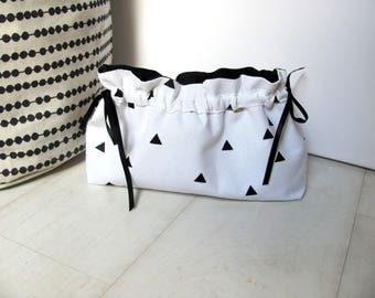 All-purpose white pattern cotton triangle Kit