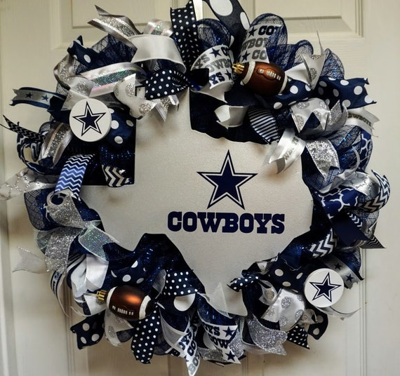 Dallas Cowboys Wreath Cowboys Wreath Dallas Wreath Dallas