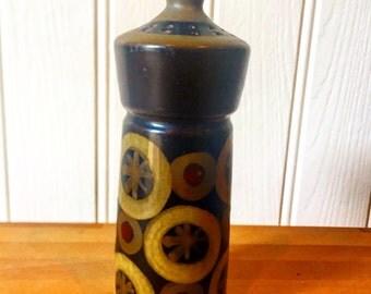 Denby Arabesque pepper pot 1970s