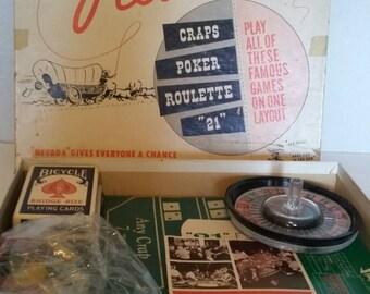 Vintage Nevada Reno Board Game 1960s