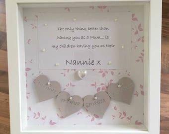 Grandchildren quote frame