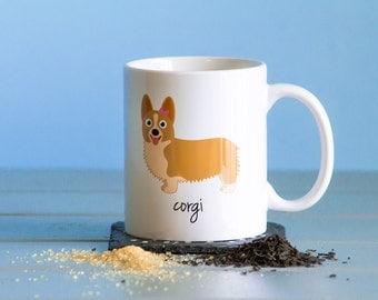 Corgi Mug (girl)