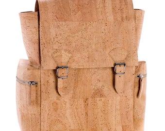 Cork backpack, laptop backpack, Cork backpack