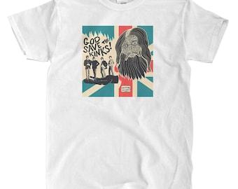 The Kinks - God Save The Kinks - White T-shirt