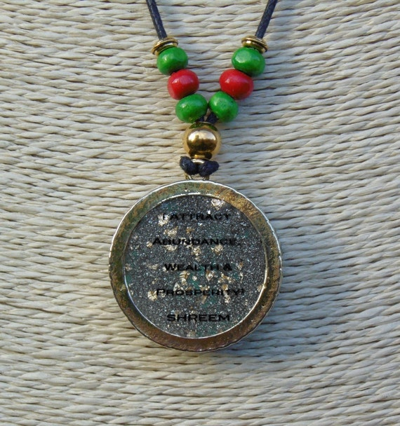 Themindsecretsrevealed good luck charm good luck necklace lucky themindsecretsrevealed good luck charm good luck necklace lucky charm for wealth abundance prosperity and good luck attraction advanced and powerful aloadofball Gallery
