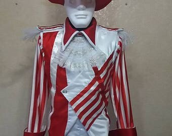Stilt Costume Happy Red