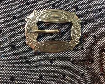 Dramatic Price Reduction! Vintage Art Nuevo style belt buckle brooch