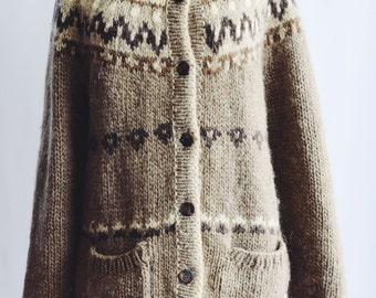 Jersey wool Vintage handmade.