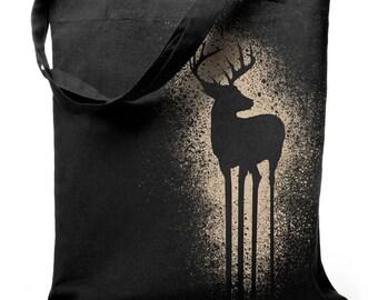 Deer - jute bag