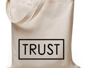 TRUST - jute bag