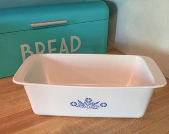 Corning ware cornflower bread loaf pan p-315-b