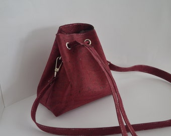 Le sac à main, cute little pouch made of Cork