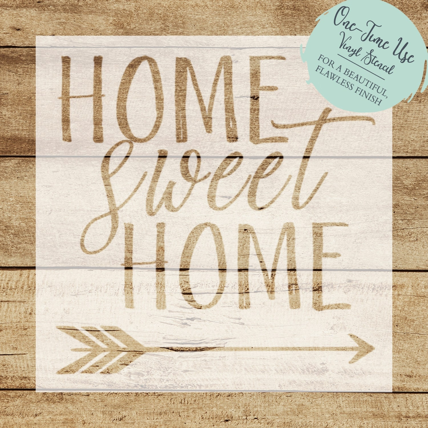 Primitive stencil home sweet home 12x12 for painting signs crafts -  10 12