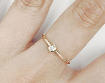 Diamond Wedding Band, Diamond Wedding Ring, Diamond Engagement Band, Diamond Engagement Ring, Minimalist Diamond Ring