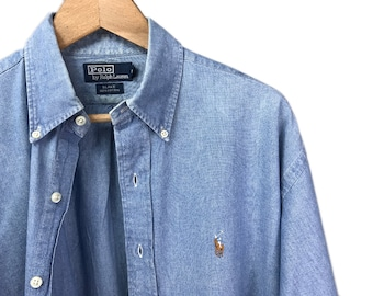vintage denim shirt by POLO by RALPH LAUREN