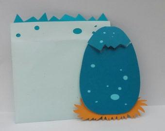 Dinosaur egg invitations/ prehistoric/birthday/babyshower/custom