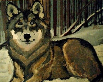 Lonewolf Print