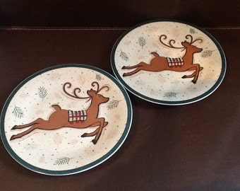 Charming Yuletide Luncheon Set