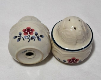 Vintage Ceramic Salt and Pepper Shakers/ Stoneware from Japan