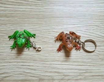 10 Pieces - Realistic 3D frog Party Favor - Zipper Pulls