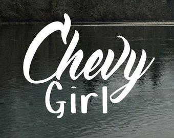 Chevy Truck Decals Etsy