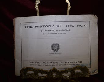 The History of the Hun by Arthur Moreland.  ( WWI Propaganda)