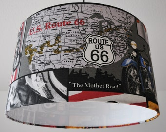 "Ceiling lamp ""route 66"""