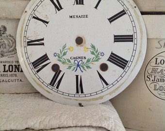 Beautiful antique French clock face