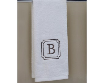 100 % USA Grown | 1 Hand Towel | Monogram Towels | Personalized Orders | Gift Ideas | Decorative | Luxury Towels | Soft & Durable