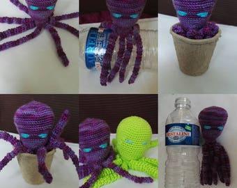 Crocheted Octopus toy Octopus