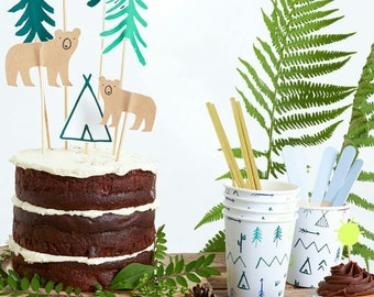 Woodland/Explorer Party Kit