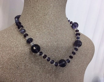Amethyst Necklace//Gift for Her