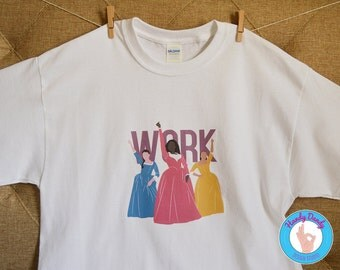 Work - Hamilton Shirt - Schuyler Sisters - Hamilton Musical - Adult T-Shirt - Womens Hamilton Shirt - I'm Lookin For A Mind At Work