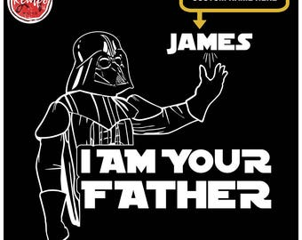 Custom I AM YOUR FATHER T-Shirt