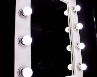make-up mirror, illuminated
