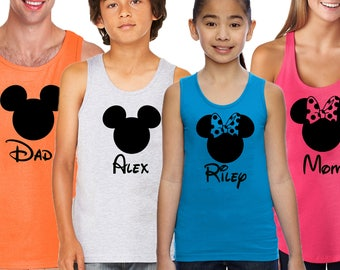 Matching Family Vacation Tanks,Disney Vacation Shirt tank top,Disney Trip Tshirt,Unisex Disney Shirt,Disney Shirt