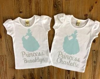 Cinderella Shirt, Princess Shirt, Disney Princess, Personalized Princess Shirt, Disney Trip Shirt, Princess Cinderella