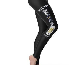 Made In MA Massachusetts Women's Leggings