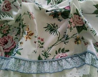 Vintage, Elizabeth Gray, Ansley Park, Ruffled, Eyelet, Balloon Valance, by J.C.Penney, Country Cottage