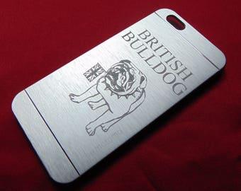 British Bulldog Engraved Phone Case - iPhone Samsung Nokia Xperia