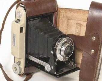 Camera KODAK vintage with leather case