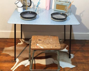 Vintage - Formica picnic/kitchen table- Mid Century