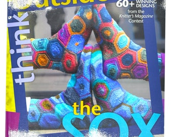 Sock Book - Sock Patterns - Knitting Patterns - Mens Sock Patterns - Womens Sock Patterns - Knitting Supplies - Sock Knitting - Used Book