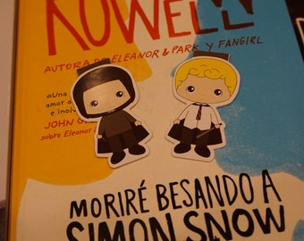 Magnetic bookmarks - Simon Snow, Rainbow Rowell, Fanfic